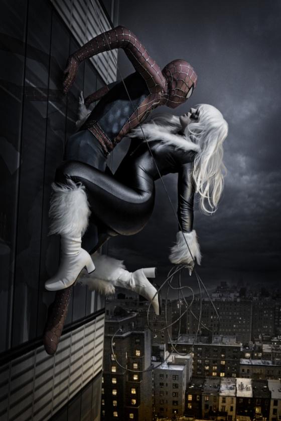 SPIDER-MAN Y GATA NEGRA