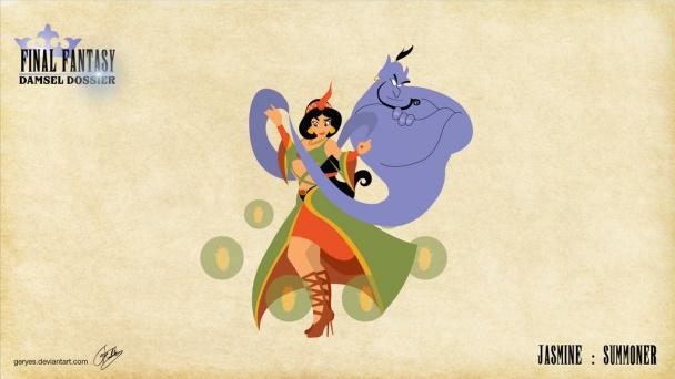 Jasmine como Invocadora