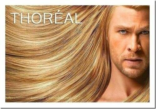 thor pelo loreal thoreal