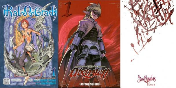 Blue Dragon, Übel Blatt y Dos Espadas