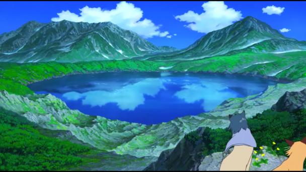 Los paisajes recuerdan mucho a Ghibli