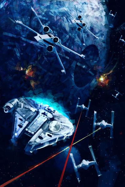 STAR WARS - ATAQUE A LA ESTRELLA DE LA MUERTE