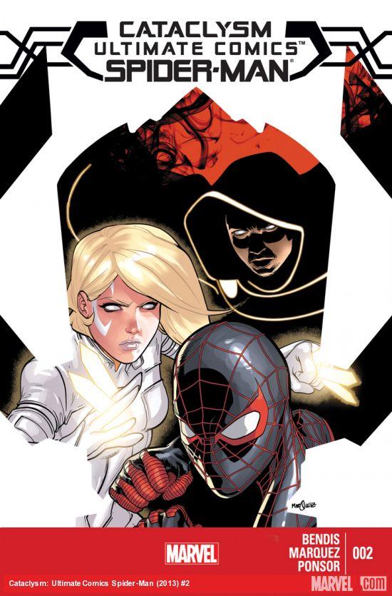 """Portada del esperado #2 de """"Ultimate Comics Spiderman: Cataclysm"""""""
