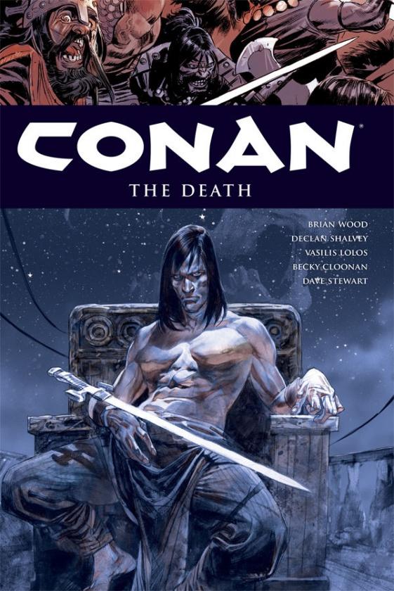 Conan Vol 14 The Death cover