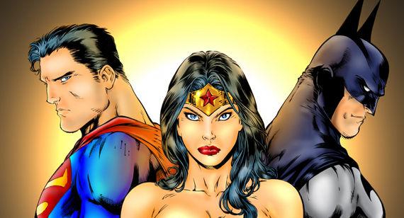 Imagen Superman Wonder Woman Batman