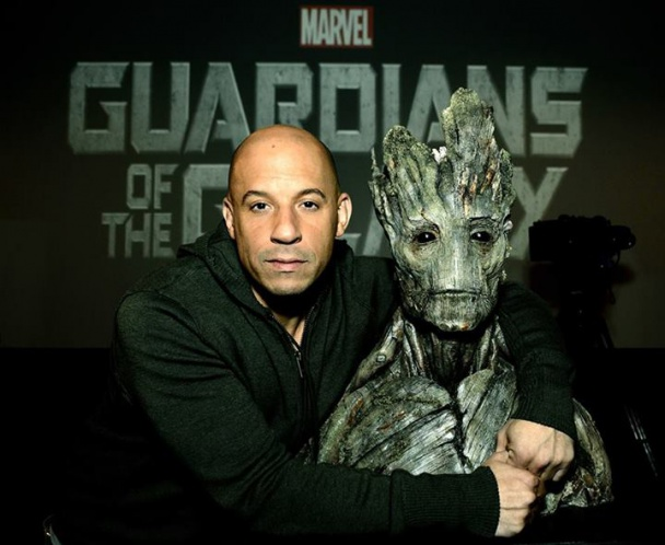 Imagen Vin Diesel Groot Guardianes de la Galaxia