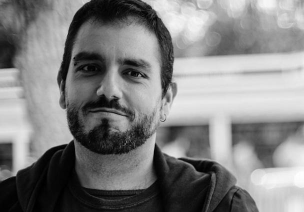 El autor, Jesús Cañadas