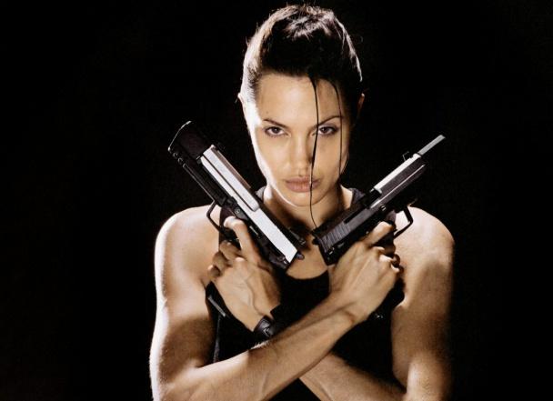 Lara Croft Angelina Jolie