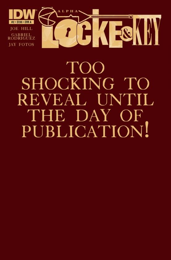 Demasiado impactante para revelarla hasta el día de la publicación