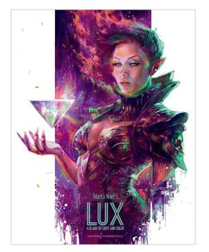 Marta Nael's LUX A Clash of Light and Color