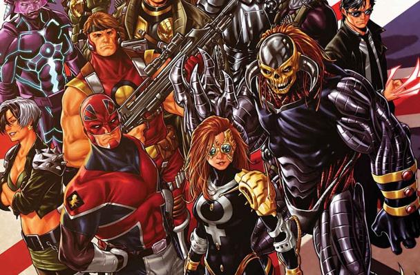 Marvel UK cover