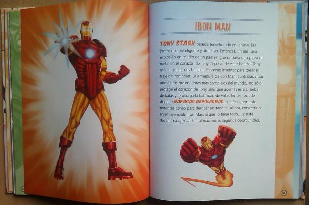 Página de Superhéroes Marvel