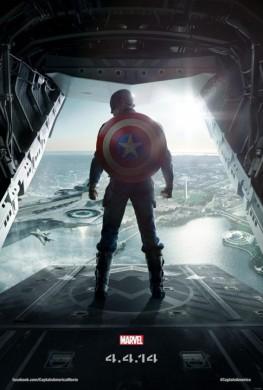 Póster Capitán América Soldado de Invierno