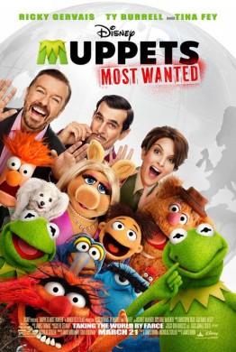 Póster El tour de los Muppets