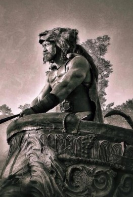 Póster Hercules The Tracian Wars