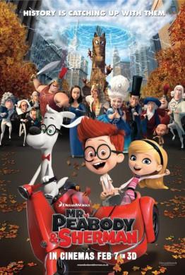 Póster Las aventuras de Peabody y Sherman