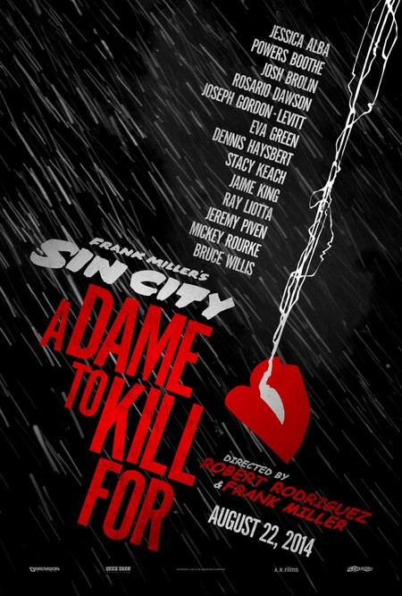 Póster Sin City A Dame to Kill for