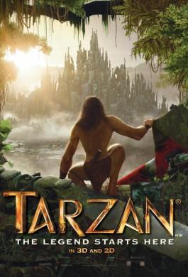 Póster Tarzan 3D