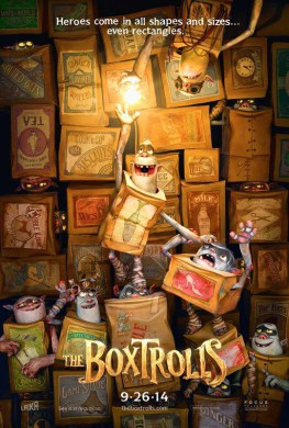 Póster The Boxtrolls