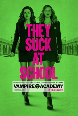 Póster Vampire Academy Blood Sisters