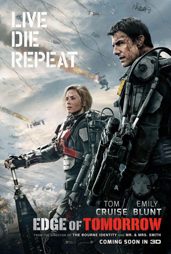 Póster nuevo Edge of Tomorrow
