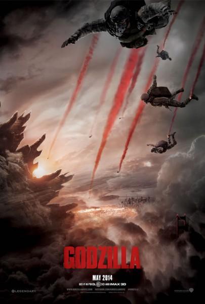 Póster nuevo Godzilla