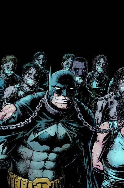 Portada de Batman The Dark Knight #26
