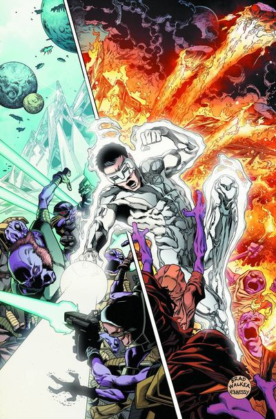 Portada de Green Lantern New Guardians #26