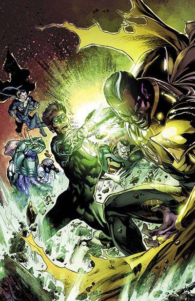 Portada de Justice League #26