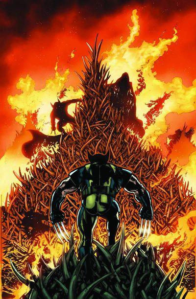 Portada de Savage Wolverine #13