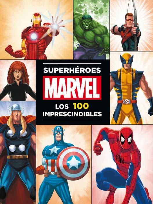 Portada de Superhéroes Marvel