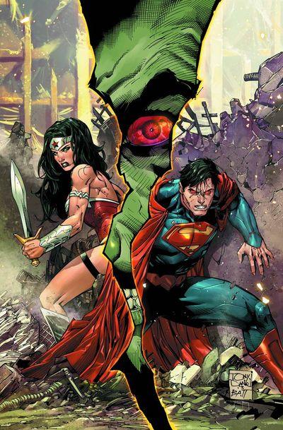 Portada de Superman - Wonder Woman #3