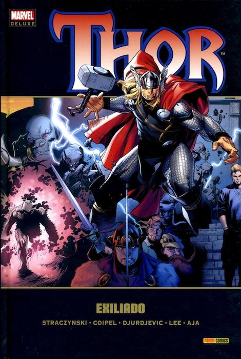 Portada de Thor 3 - Exiliado