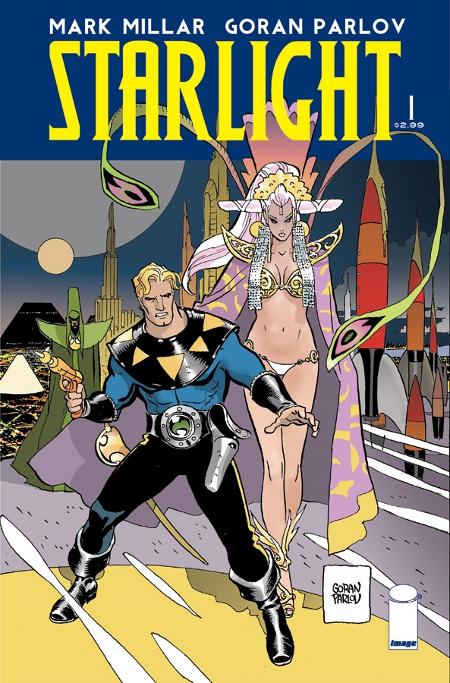 """Portada para el #1 de """"Starlight"""" por Parlov"""