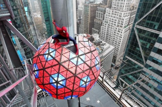 The Amazing Spiderman 2 Times Square