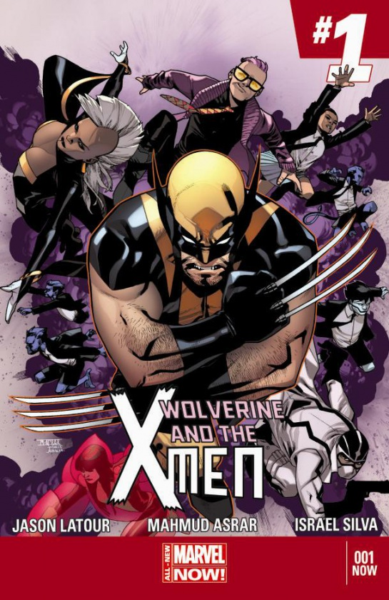 Portada de Wolverine and the X-Men 1