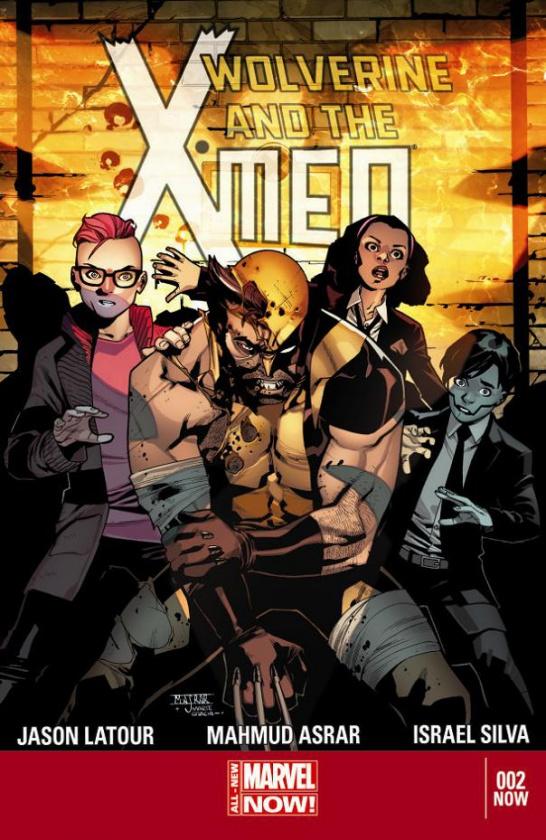 Portada de Wolverine and the X-Men 2