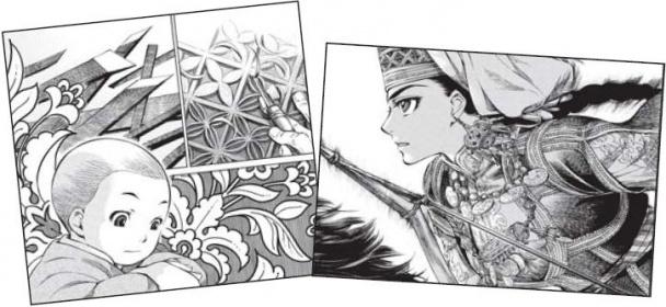 Escena de Amira de Bride Stories (Otoyomegatari) de Kaoru Mori, el manga editado por Norma Editorial novedad del XIX Salón del Manga en 2013
