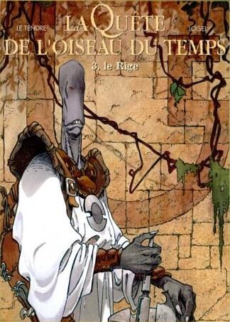 La búsqueda del pájaro del tiempo - volumen integral publicado por Norma Editorial en su línea de cómic europeo franco-belga. De Serge le Tendre y Régis Loisiel.