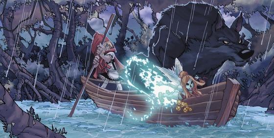 fairy quest caperucita y el lobo ediciones babylon