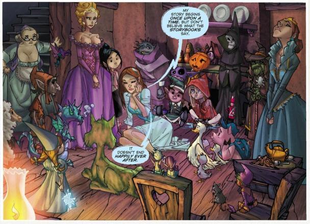 Muchos de los personajes de los cuentos de hadas están presentes