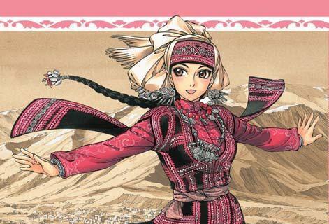 Portada en la que aparece Amira de Bride Stories (Otoyomegatari) de Kaoru Mori, el manga editado por Norma Editorial novedad del XIX Salón del Manga en 2013