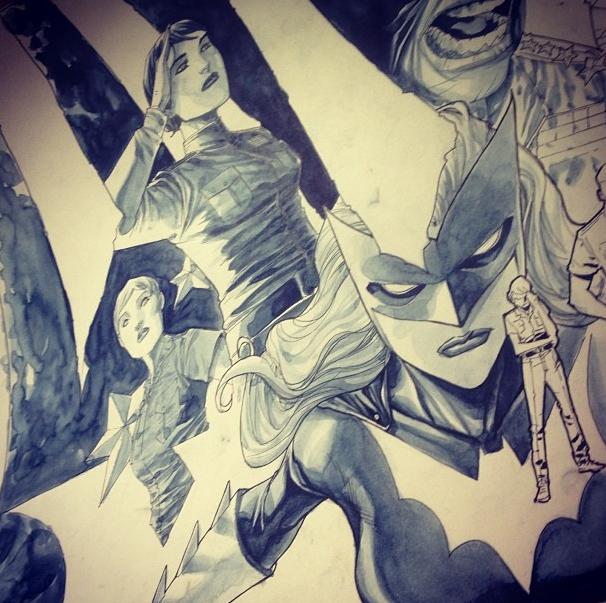 Batwoman, por Francis Manapul