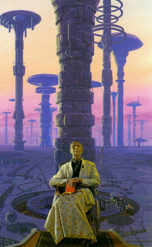 """Imagen de Hari Seldon, para """"Fundación"""" de Asimov"""