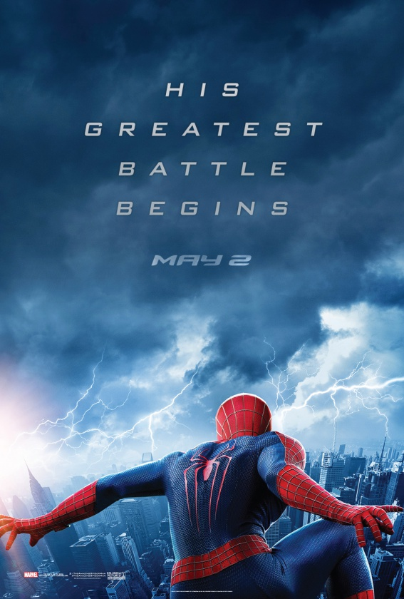nuevo póster The Amazing Spiderman 2