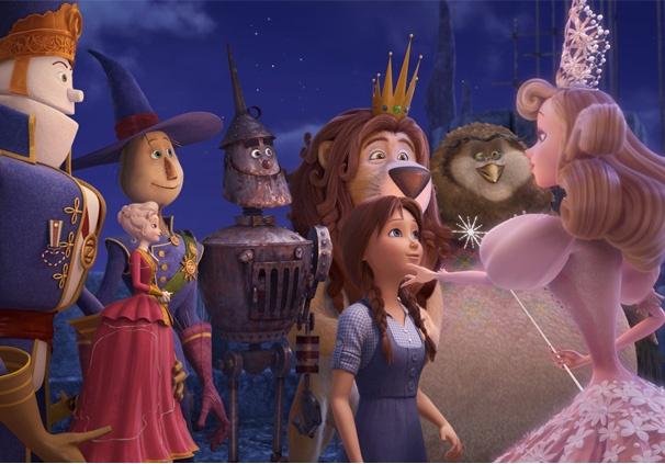 Reunión de los personajes de la película