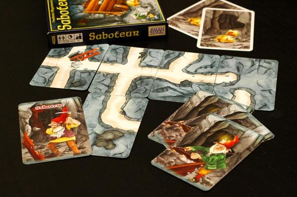saboteur cartas juego de mesa