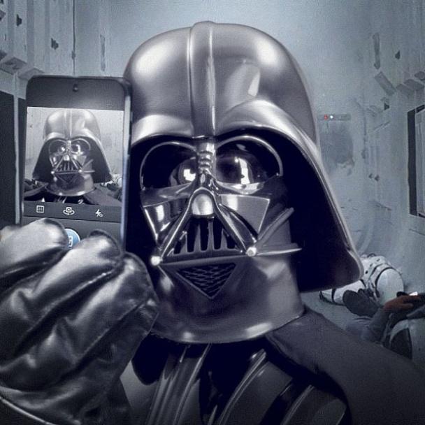"""Vader en el """"curro"""""""