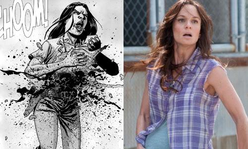 walking-dead-lori-comics-vs-tv