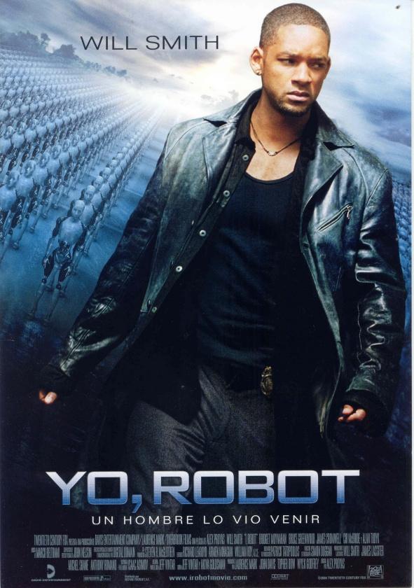 """Póster de la película """"Yo, Robot"""", en España"""
